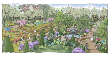 childrens discovery garden - Tulsa Botanic Garden