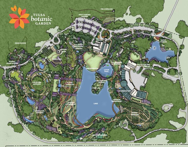 Superbe Tulsa Botanic Garden 25 Year Master Plan