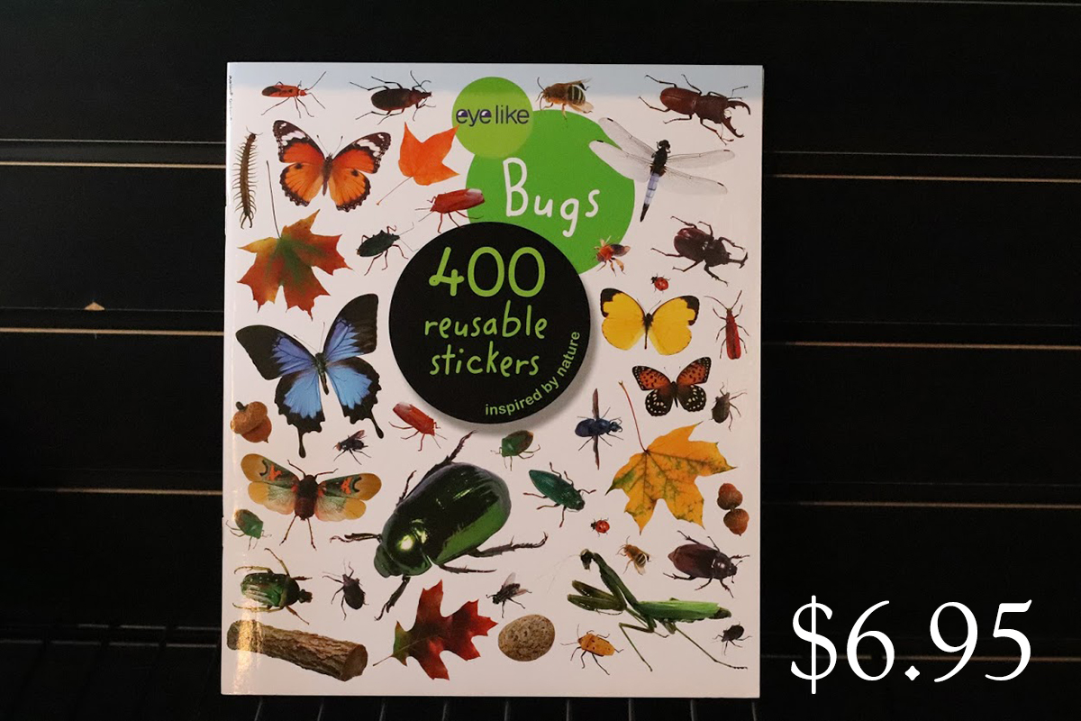 eyelike Bugs 400 reusable stickers inspired by nature